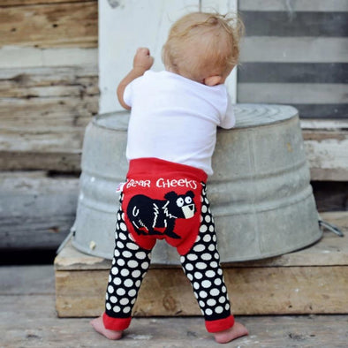 Leggings Baby Bear Cheeks | LAZY ONE | RocketBaby.it