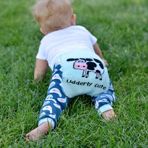 Leggings Baby Udderly Cute | LAZY ONE | RocketBaby.it
