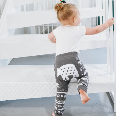 Leggings Baby Nordic Bear | LAZY ONE | RocketBaby.it