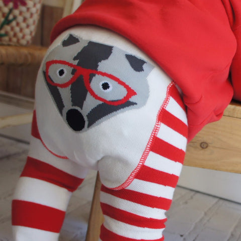 Leggings Tasso Rosso - BLADE&ROSE - RocketBaby.it - RocketBaby
