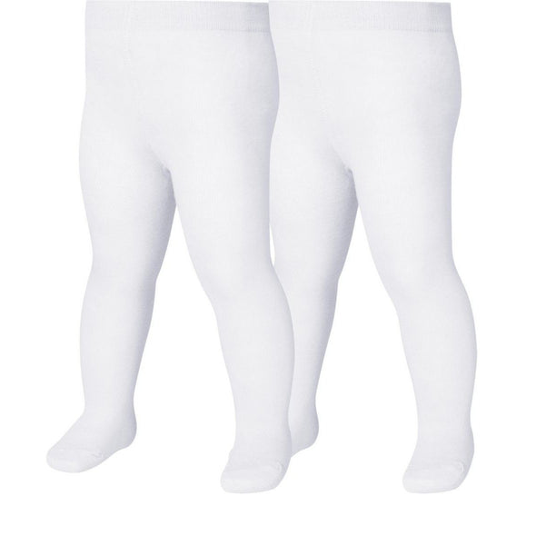 Set da 2 Leggings con Piedino White