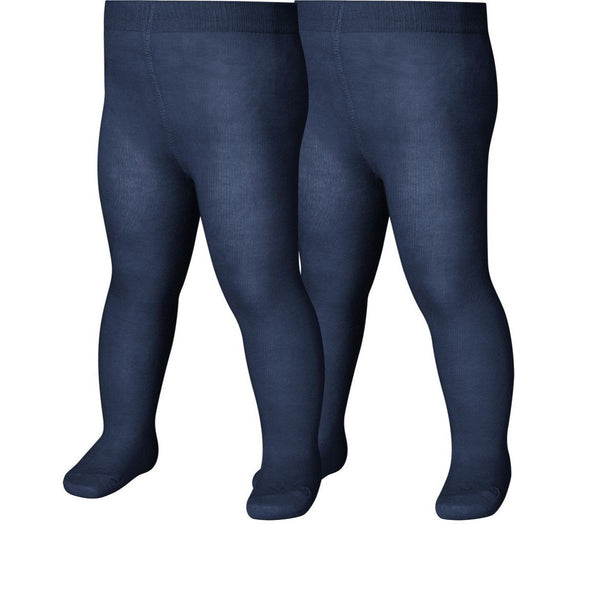 Set da 2 Leggings con Piedino Navy