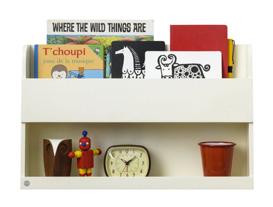 Scaffale Pensile e Libreria Buddy Soft White | TIDY BOOKS | RocketBaby.it