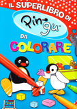 Libro Superlibro di Pingu da Colorare | GIUNTI | RocketBaby.it