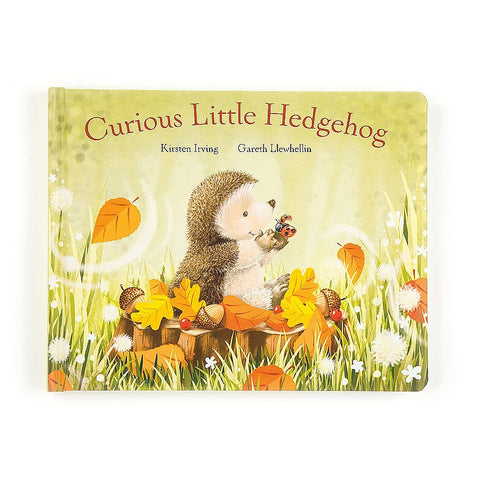 Curious Little Hedgehog Book Libro in Inglese | JELLY CAT | RocketBaby.it