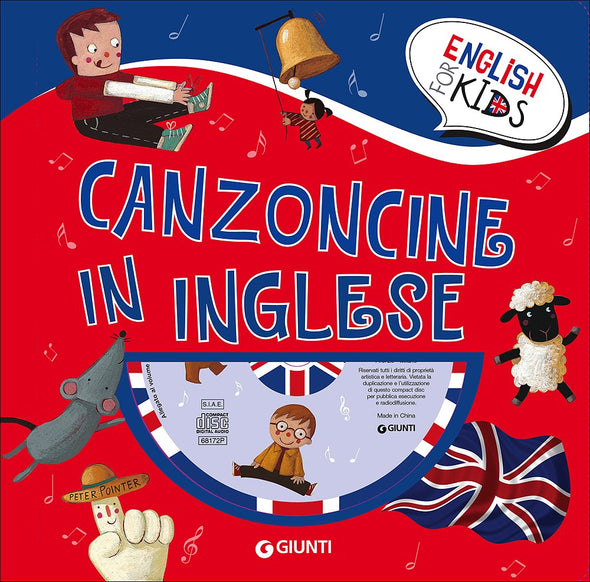 Libro Canzoncine in inglese con CD | GIUNTI | RocketBaby.it