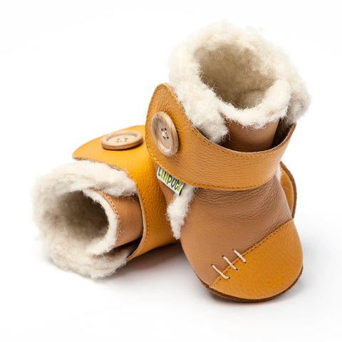 Stivali Soft Sole con Pelo Wheat | LILIPUTI | RocketBaby.it