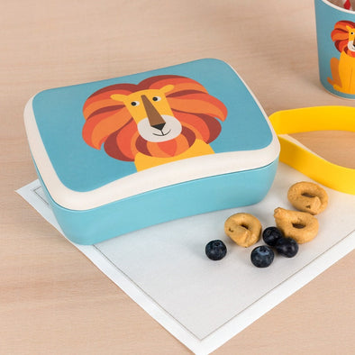 Lunch Box in Bambù Charlie The Lion