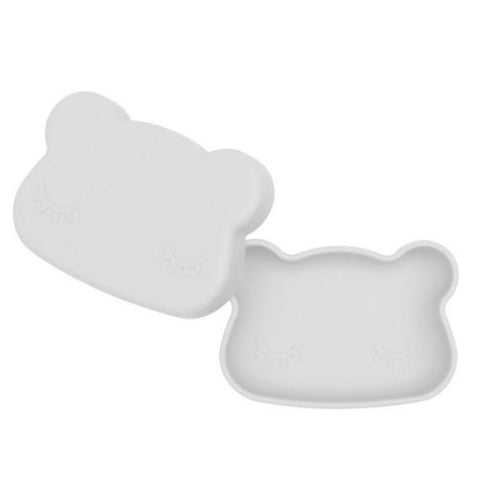 Lunch Box in Silicone Orso Grigio | WE MIGHT BE TINY | RocketBaby.it