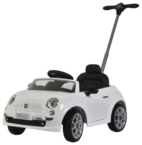 Push Car Fiat 500 Bianco | BABYCAR | RocketBaby.it