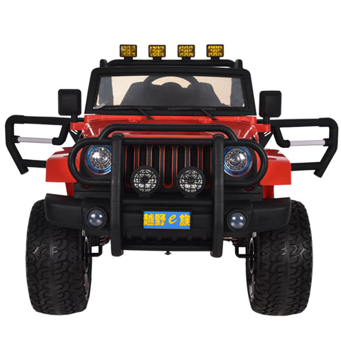 Jeep Off Road Rosso | BABYCAR | RocketBaby.it