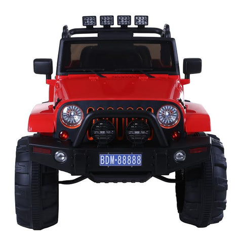 Jeep Adventure Rossa