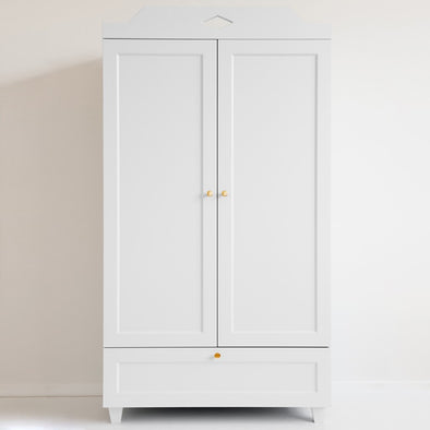 Armadio Carla Wardrobe White | CAM CAM COPENHAGEN | RocketBaby.it