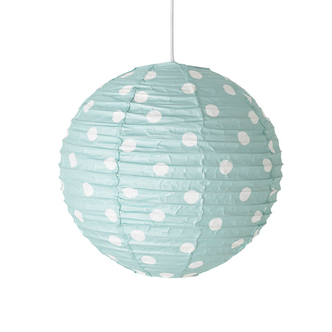 Lampada Grande Pois Aquamarina | BLOOMINGVILLE | RocketBaby.it