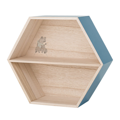 Box Mensola Orsetto Blue | BLOOMINGVILLE | RocketBaby.it