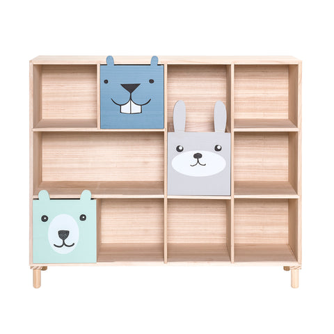 Libreria con Cassetti Blue | BLOOMINGVILLE | RocketBaby.it