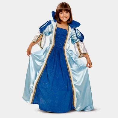 Costume Travestimento Blue Princess