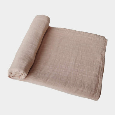 Swaddle in Mussola Pale Taupe