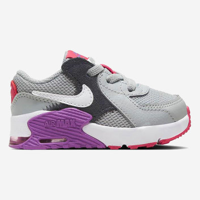 Nike Baby Air Max Excee (TD) Grey Fog White Purple Nebula