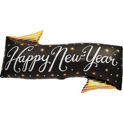 Palloncino Decorativo Happy New Year Banner | NORTH STAR BALLOON | RocketBaby.it