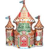 Palloncino Decorativo Gingerbread House | NORTH STAR BALLOON | RocketBaby.it