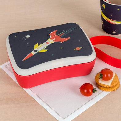 Lunch Box Bamboo Space Age | REX LONDON | RocketBaby.it
