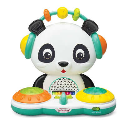 Gioco Sonoro Spin and Slide DJ Panda | INFANTINO | RocketBaby.it