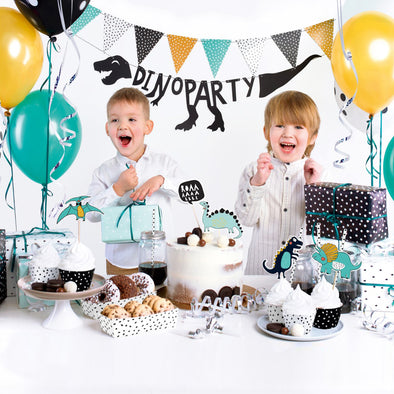 Kit per Party Tema Dinosaurs