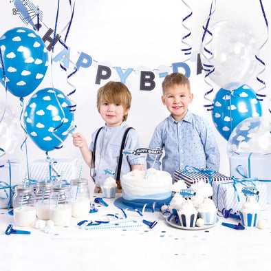 Kit per Party Tema Little Plane