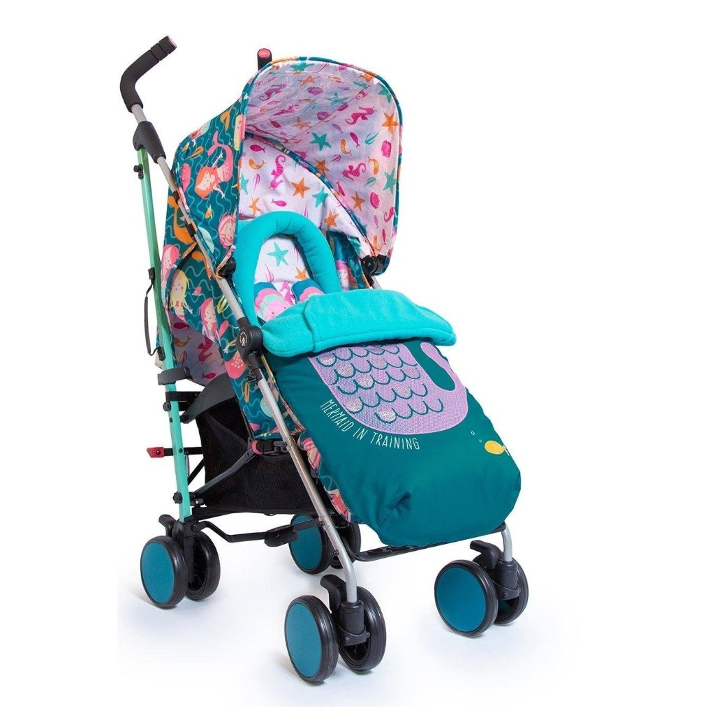 Passeggino Supa 2018 Mini Mermaids | COSATTO | RocketBaby.it