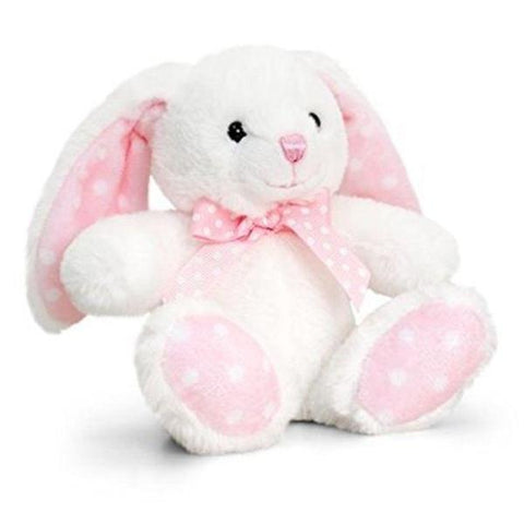 Peluche Coniglietto Cream e Pastel Pink | KEEL TOYS | RocketBaby.it