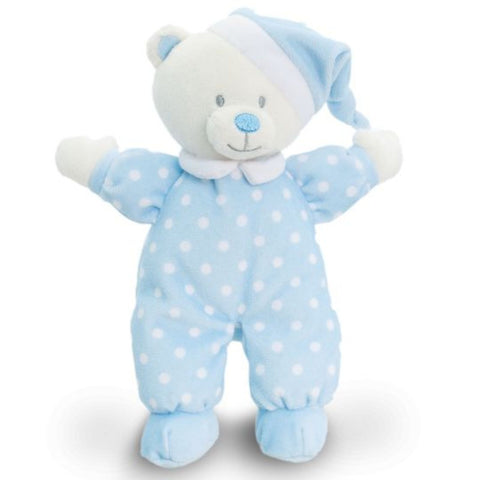 Peluche Baby Goodnight Bear Blue | KEEL TOYS | RocketBaby.it