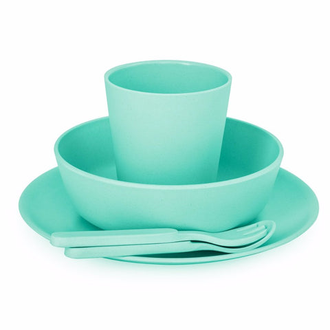 Set Pappa in Bamboo Mint Green | BOBO AND BOO BAMBOO | RocketBaby.it