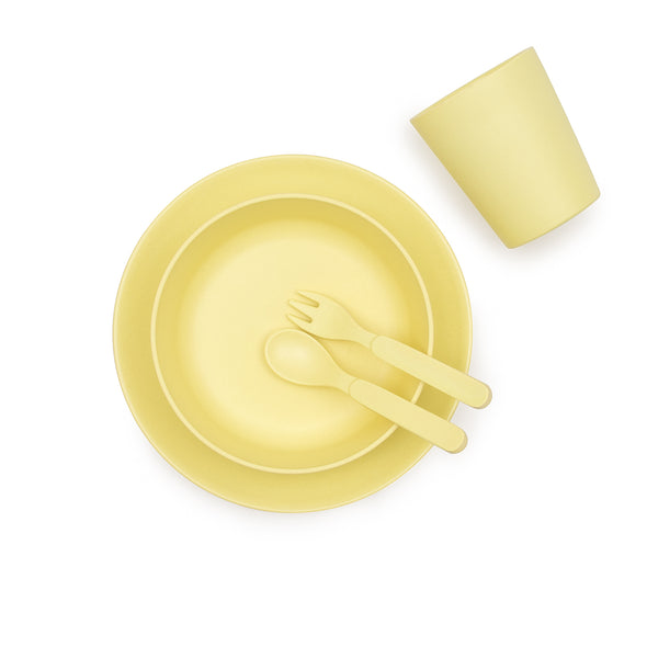 Set Pappa in Bamboo Sunshine Yellow |  | RocketBaby.it