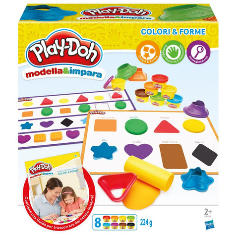 Play-Doh Colori E Forme | PLAYDOH | RocketBaby.it