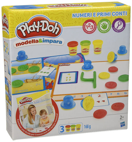 Play-Doh Numeri E Conti | PLAYDOH | RocketBaby.it
