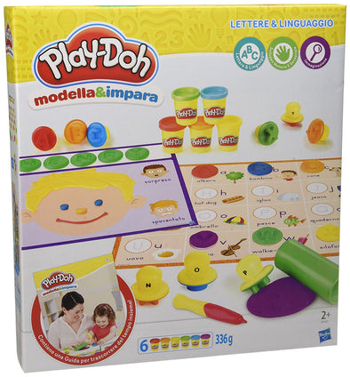 Play-Doh Lettere E Lingue | PLAYDOH | RocketBaby.it