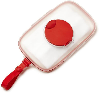 Portasalviette Umidificate Grab and Go Rosso