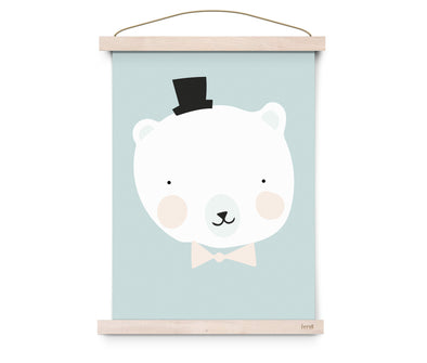 Poster Mister Polar | EEF LILLEMOR | RocketBaby.it