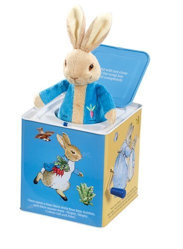Peluche Musicale Peter Rabbit Jack in the Box | RAINBOW DESIGNS | RocketBaby.it