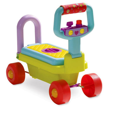 Gioco Cavalcabile e Primipassi 4 in 1 | TAF TOYS | RocketBaby.it