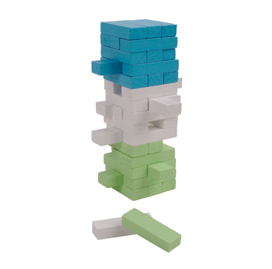 Gioco Torre Di Blocchi Traballante Multicolor Small | MAGNI TOYS | RocketBaby.it