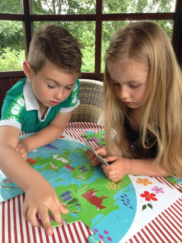 Puzzle 42 Pezzi Map Of Denmark | MAGNI TOYS | RocketBaby.it