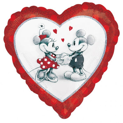 Palloncino Decorativo Mickey and Minnie Love | AMSCAN | RocketBaby.it