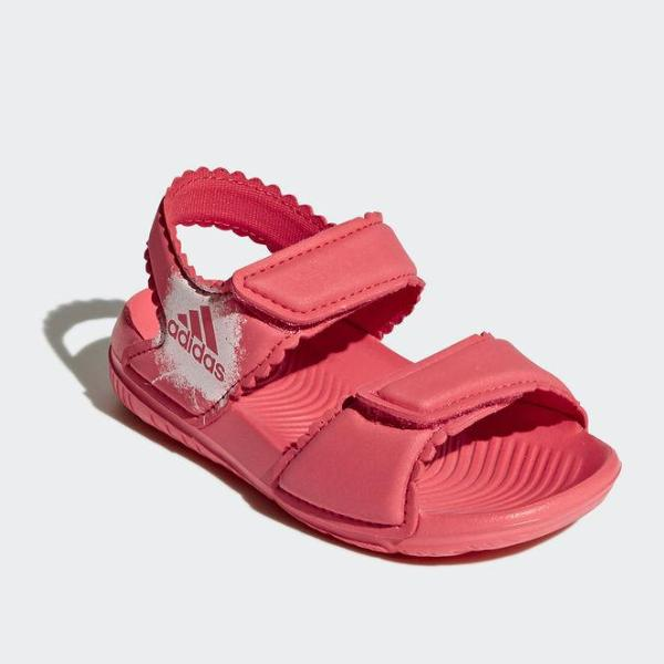 the latest f7df4 50819 Adidas Baby Sandali da Mare Corallo