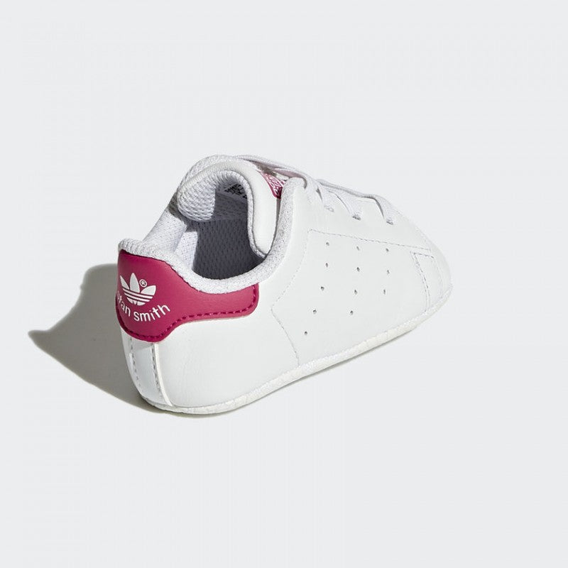 release date 04b14 65e0d Adidas-Adidas Newborn Stan Smith Crib White and Red – Rocket