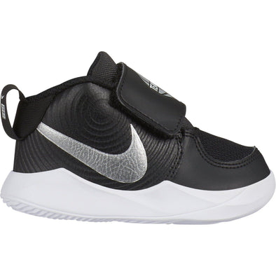 Nike Team Hustle D 9 (TD) Nere e Metallizzate | NIKE | RocketBaby.it