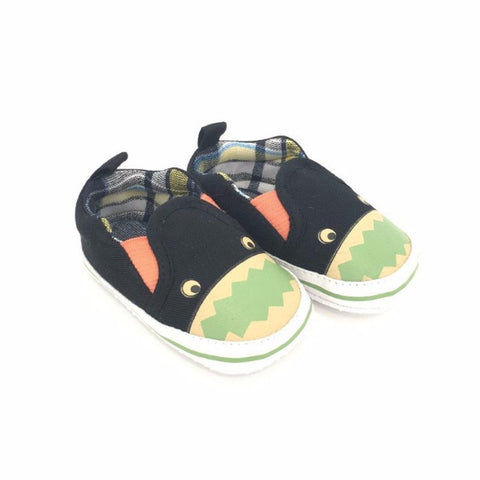 Sneakers Soft Sole con Motivo a Tartan e Mostriciattolo | MIAMI KIDS | RocketBaby.it