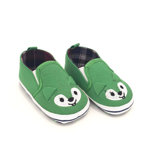 Sneakers Soft Sole Volpe Verde | MIAMI KIDS | RocketBaby.it