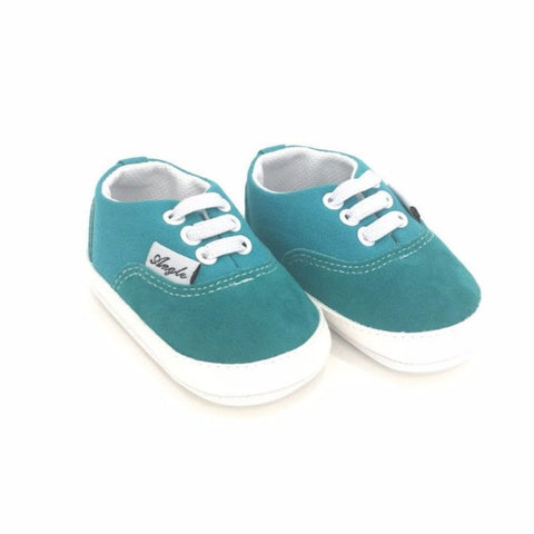Sneakers Verde Acqua Velluto | MIAMI KIDS | RocketBaby.it